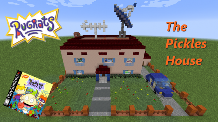 Rugrats The Pickles House Minecraft Project