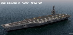 USS Gerald R. Ford (CVN-78) 1:1 scale Minecraft Project