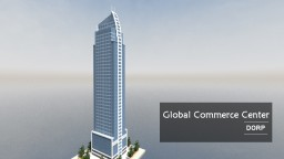 Global Commerce Center │Skyscraper Minecraft Map & Project