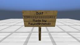 Golf in Minecraft