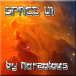 Norzeteus  SPACE - UI  MCvers. 1.8 - 1.13 Minecraft Texture Pack