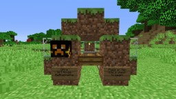 Ultra Dirt House v4.5 CONTEST Minecraft Project