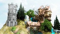 Cole's Mill (Medieval Water Mill) Minecraft Map & Project
