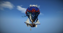 Fantasy hot air balloon (add download) Minecraft