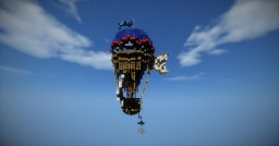 Air balloon straight from Riverton Minecraft Map & Project