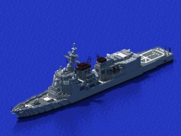 JS ATAGO class destroyer Minecraft Map & Project