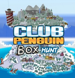 Club Penguin Box Hunt Minecraft Map & Project