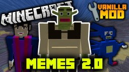 Memes 2.0 Vanilla Mod | Shrek, Sanic, We Are Number One, and More! Minecraft Map & Project