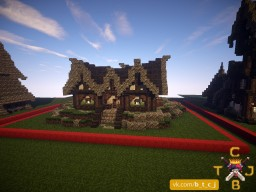Pack of Medieval Buildings. Minecraft Project