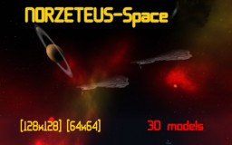 Norzeteus Space 1.15 [128x128] CTM 3D [Optifine] Minecraft Texture Pack