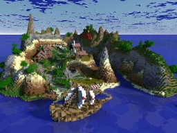 Persia Survival Spawn Minecraft Map & Project