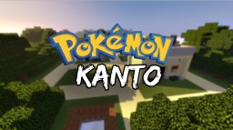 Pokémon Kanto in Minecraft