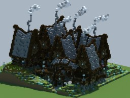 Elven Village Minecraft Project