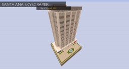 Santa Ana Skyscraper Minecraft Project