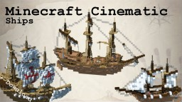 Minecraft Cinematic | Epic Medieval Ships Minecraft