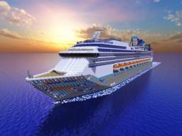 Tropical Spectrum! [Full Interior] Custom Cruise Ship! Minecraft Map & Project