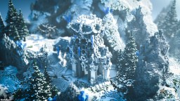 Frostibite - Oriental Temple Minecraft Map & Project