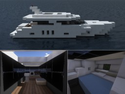 Small Yacht Minecraft Map & Project