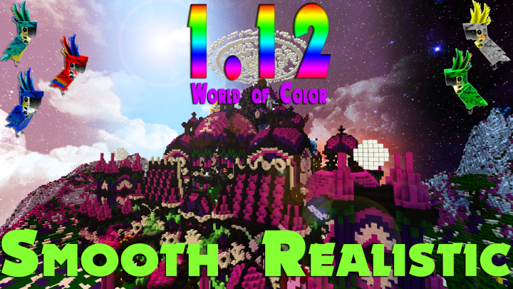 1.12 ready with all new blocks and mobs done!