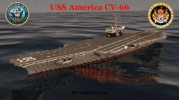 USS America (CV-66) Minecraft Map & Project
