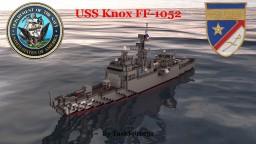 USS Knox (FF-1052) Minecraft Project