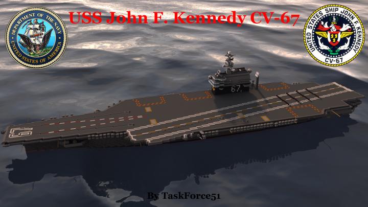 uss john f kennedy cv 67 minecraft project