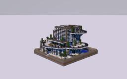 Futuristic House by ELM0 | minecraft-spielplatz.de Minecraft Project