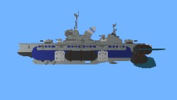 UCS Eagle Class Air Destroyer Minecraft Map & Project