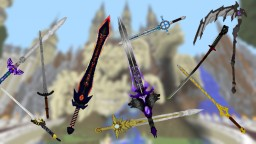 Legendary Pack - 3D Weapons Minecraft Texture Pack