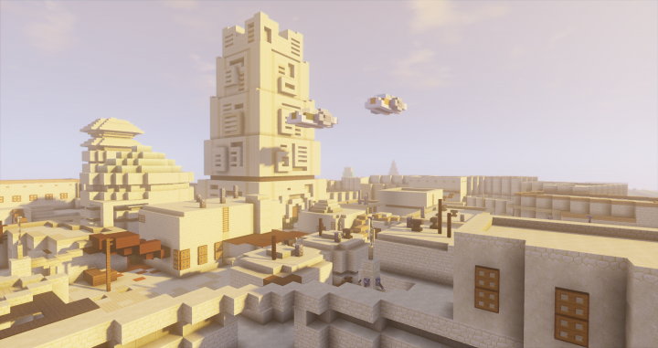 Mos Eisley Star Wars Minecraft Project