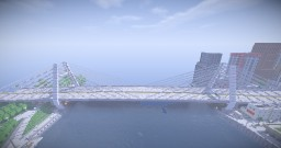 Ashfield Cable Stayed Bridge Minecraft