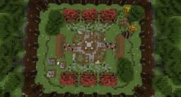 Server spawn. Server lobby. Minecraft