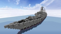 Frigate Type 23 Minecraft Project