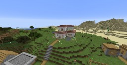 Small Country House n Village Minecraft Map & Project