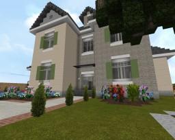 Realistic Suburban House - Carolina Plains Minecraft Map & Project