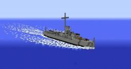 USS LCS(L) Class Minecraft Map & Project