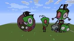 Invader Zim Pixel Art!