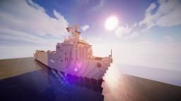 Foudre Class  1:1 scale Minecraft Project