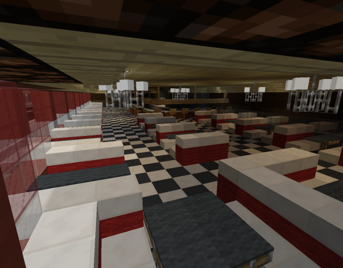 the Diners interior