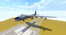 Convair B-36J Peacemaker Minecraft Map & Project