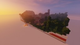 "Download Castle ""Nebelburg"" (fully furnished) Minecraft Map & Project"