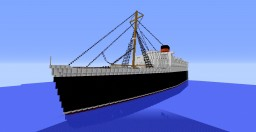 R.M.S. Queen Elizabeth Minecraft Map & Project