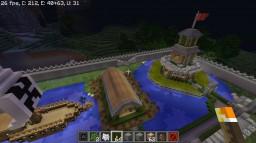 Mega Walls Survival Minecraft Map & Project