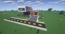 Modern House #4 Minecraft Project