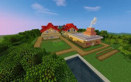 Pokemon in Minecraft -  Kanto / Johto Project