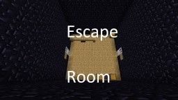 Minecraft Escape Room Minecraft Map & Project