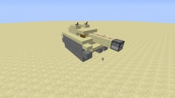 military tank (working) Minecraft Map & Project
