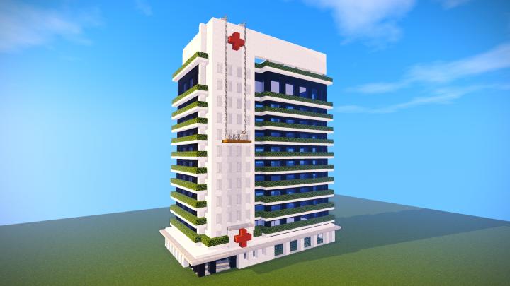 Minecraft Hospital Tutorial Minecraft Project
