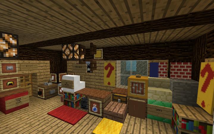 Gravity Falls Mystery Shack Minecraft Project