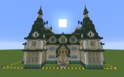 Russian Revival Palace Minecraft